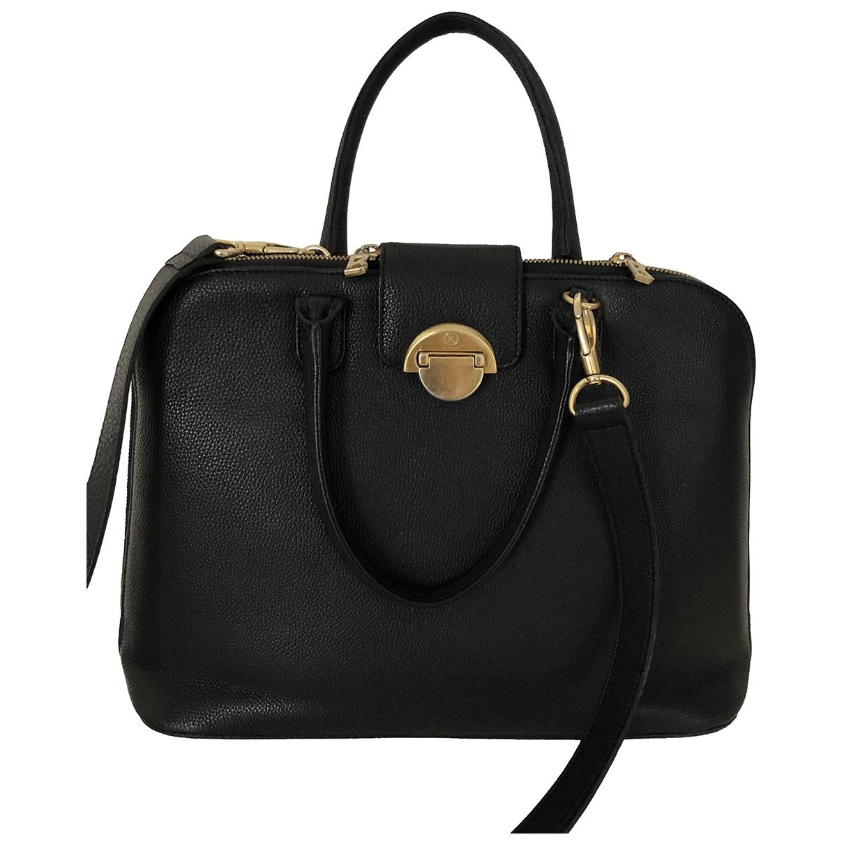 Bogner \N Handtasche in  Schwarz Leder