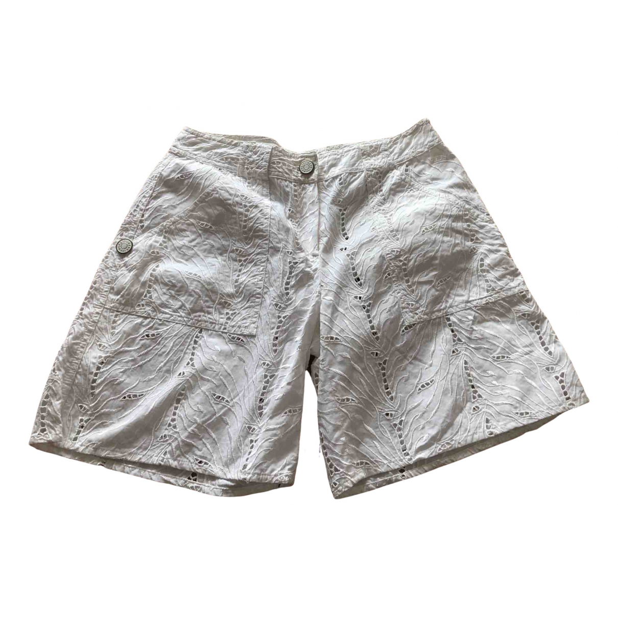 Iceberg \N Shorts in  Weiss Baumwolle