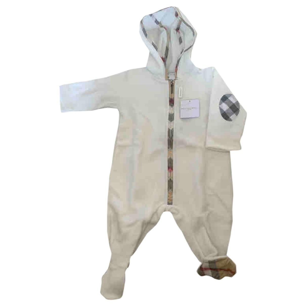 Burberry - Les ensembles   pour enfant - blanc