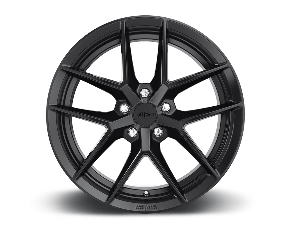 Rotiform R134188543+45 FLG Matte Black Cast Monoblock Wheel 18x8.5 5x112 45mm