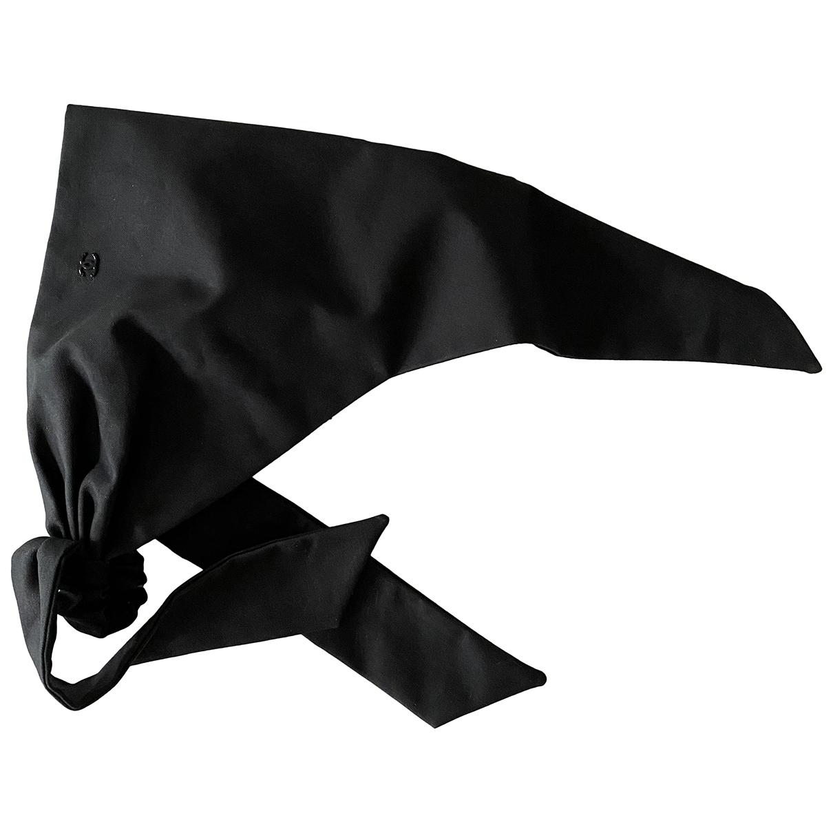Chanel \N Black Cotton hat for Women 56 cm