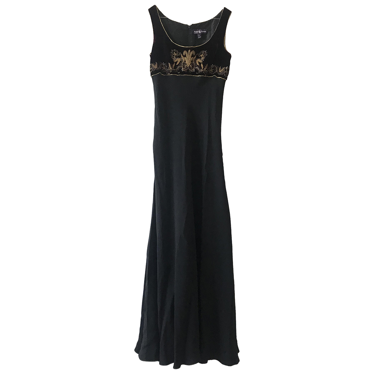 Ralph Lauren \N Black Silk dress for Women 40 IT