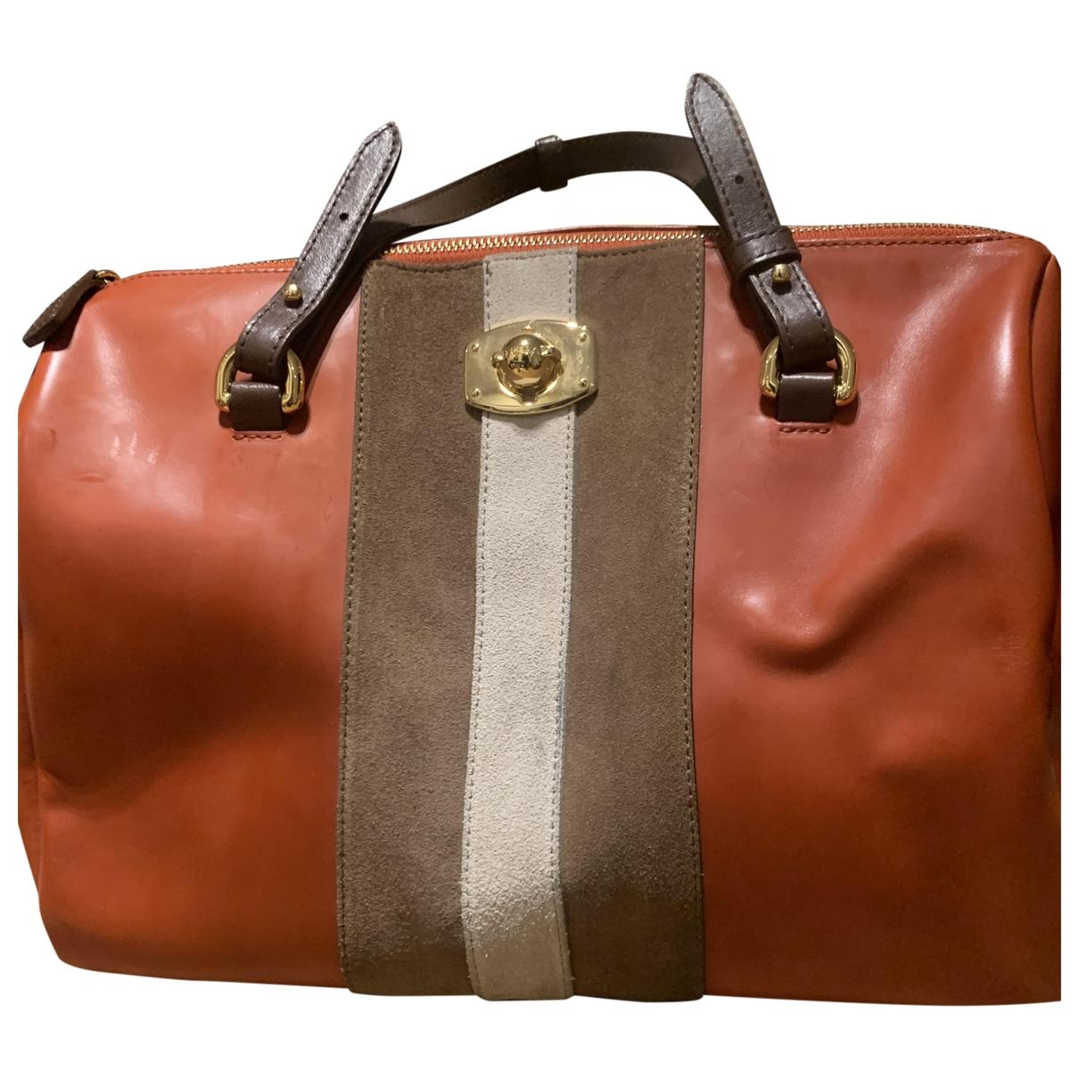 Furla \N Camel Leather handbag for Women \N
