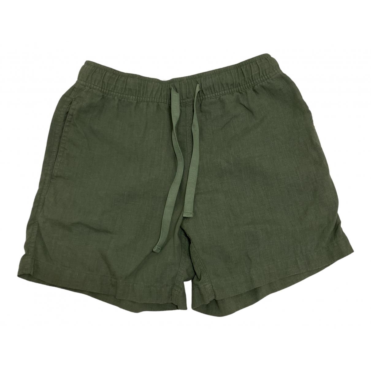Venroy \N Green Linen Shorts for Men S International
