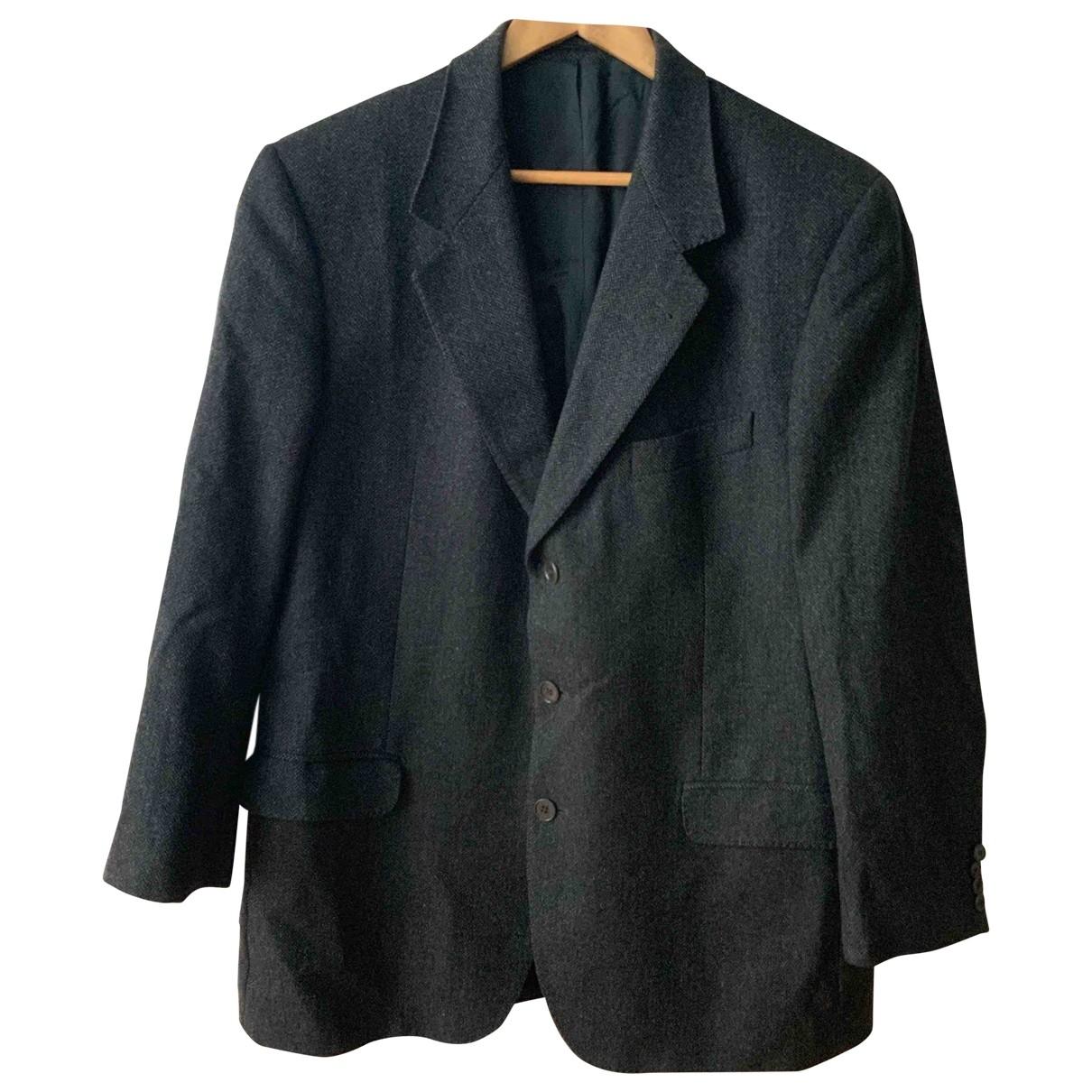 De Fursac \N Jacke in  Grau Wolle