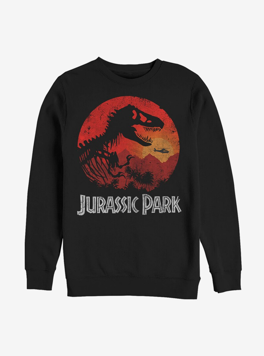 Jurassic Park Jungle Sunset Sweatshirt