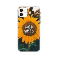iPhone Huelle mit Sonnenblumen Muster