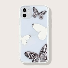 1 Stueck iPhone Schutzhuelle mit Schmetterling Muster