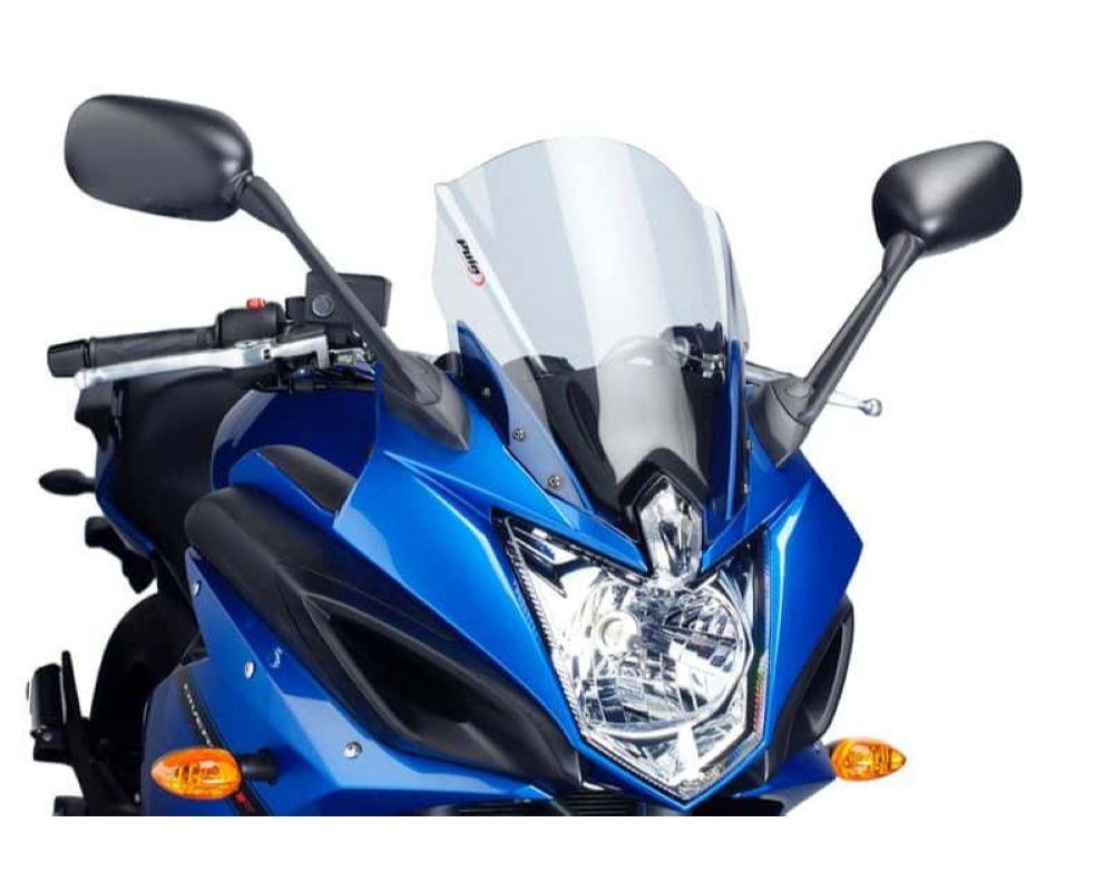 Puig 5547W Touring Windscreen - Clear Yamaha FZ6R 2010