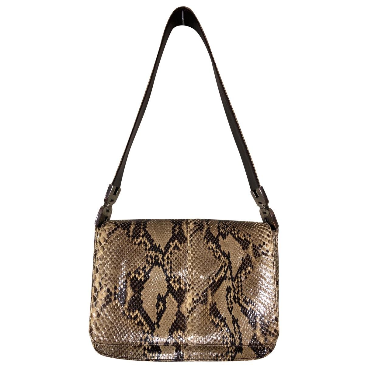Prada \N Beige Water snake handbag for Women \N