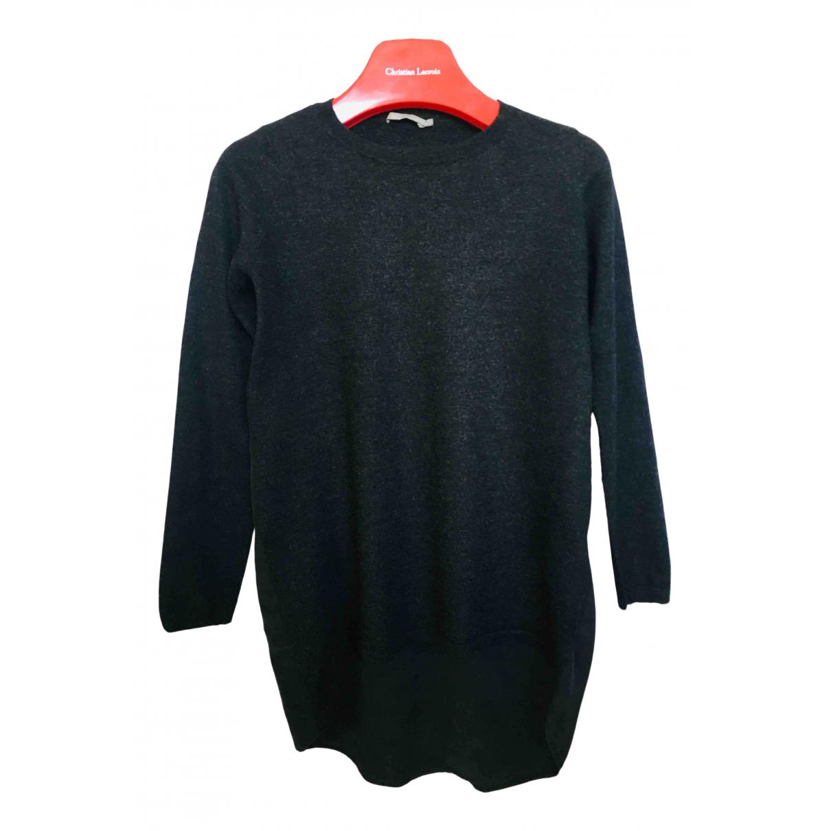 Cos - Pull   pour femme en laine - anthracite