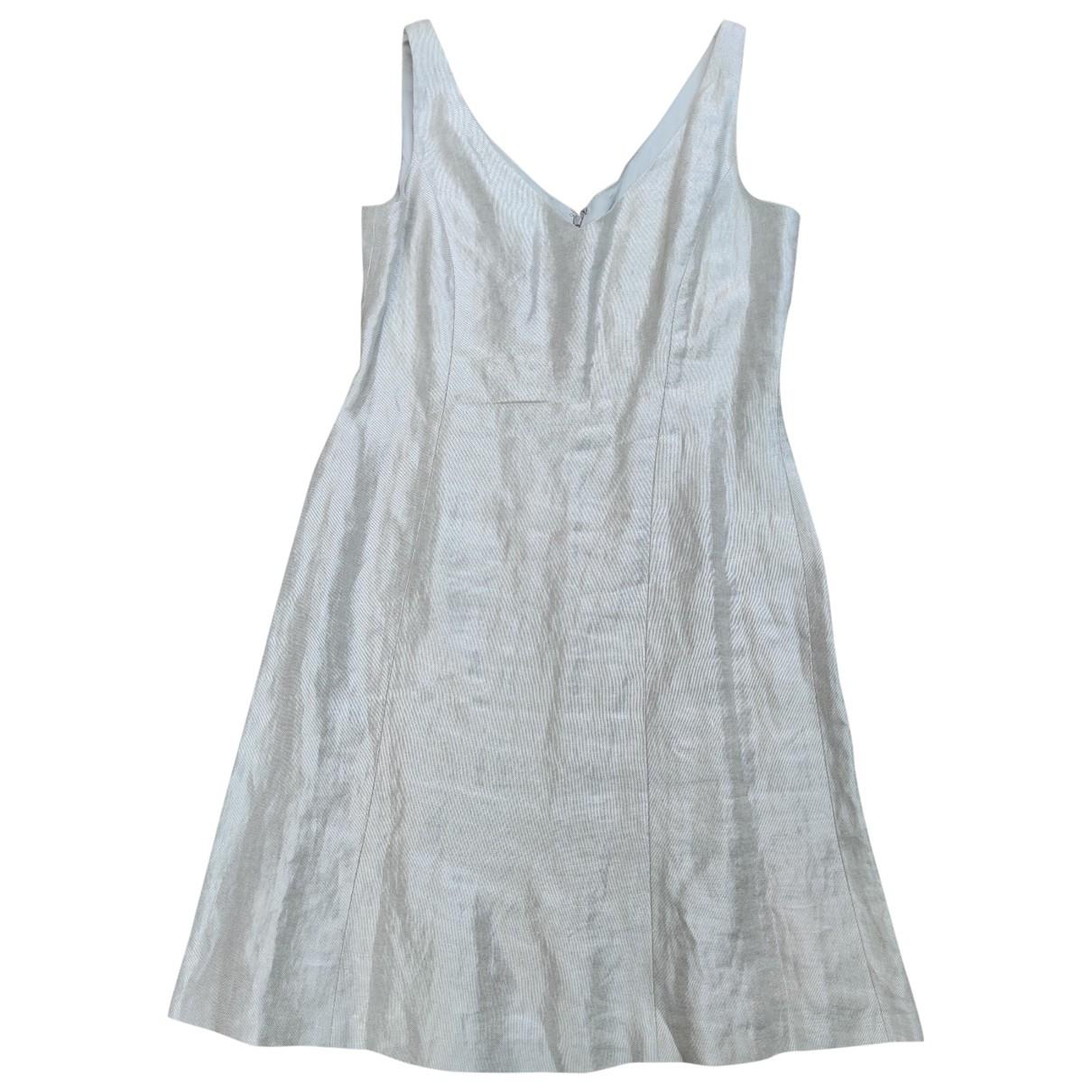 Ralph Lauren - Robe   pour femme en lin - gris
