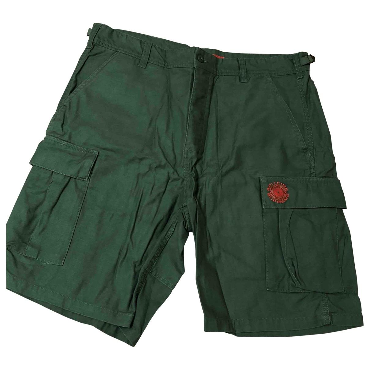 Supreme \N Shorts in  Gruen Baumwolle