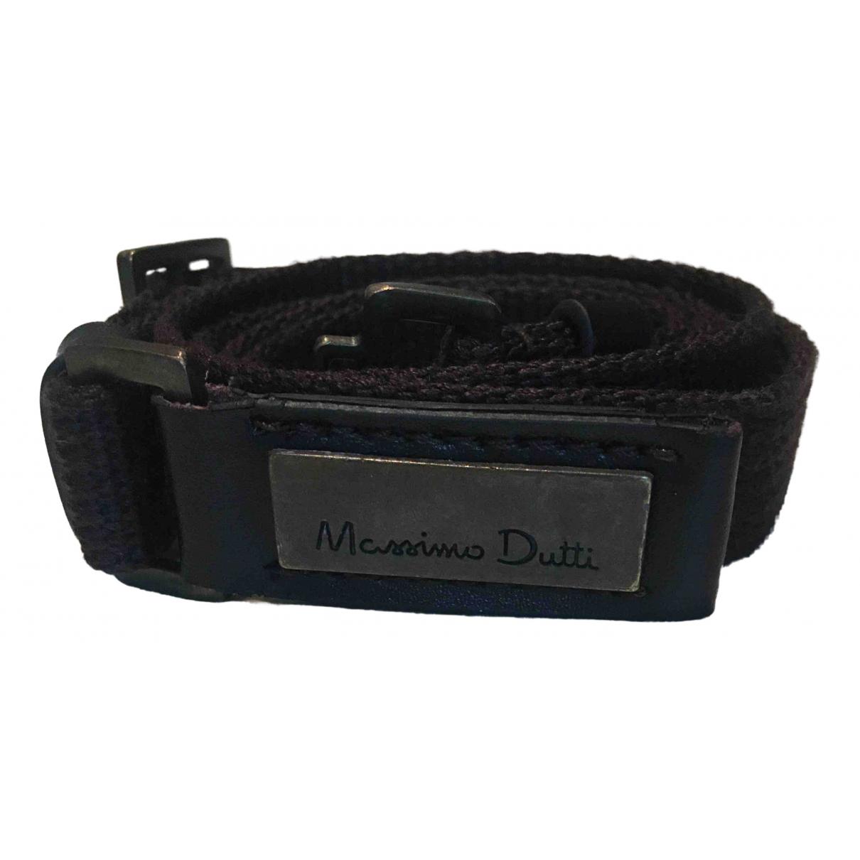 Massimo Dutti \N Brown Cloth belt for Women S International