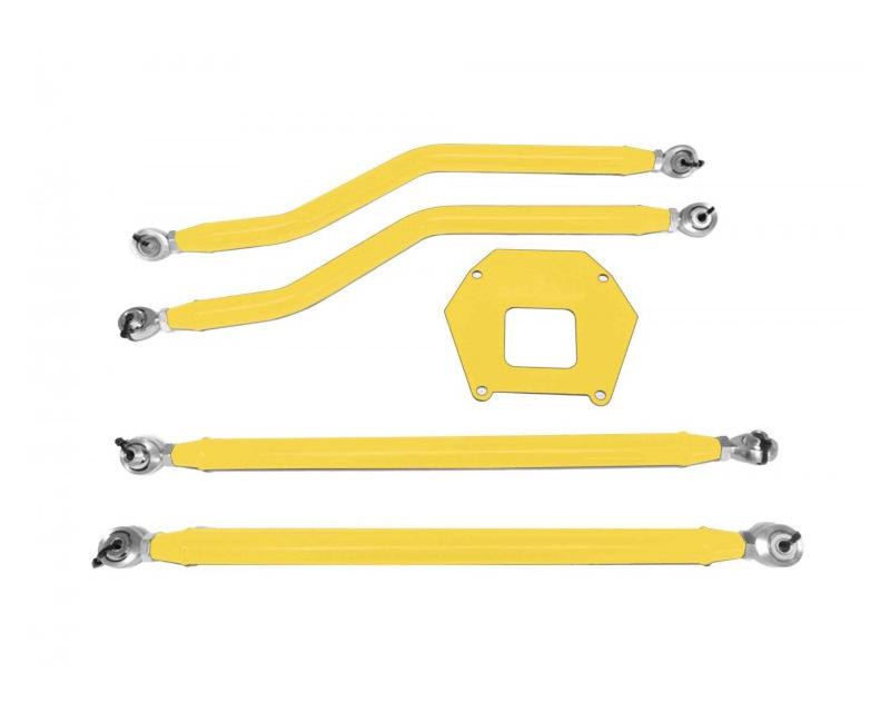 Steinjager J0047268 Rear Radius Arm High Clearance Kit Powder Coated in Lemon Peel Polaris RZR XP 1000 | RS1 13-16