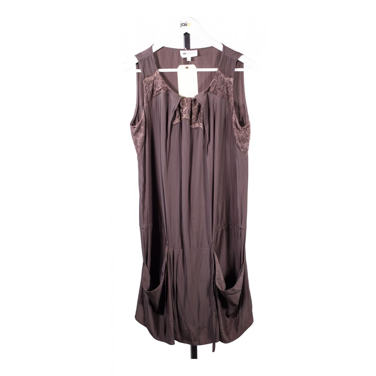 Vanessa Bruno \N Kleid in  Braun Polyester