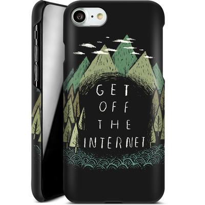 Apple iPhone 7 Smartphone Huelle - Get Off The Internet von Louis Ros