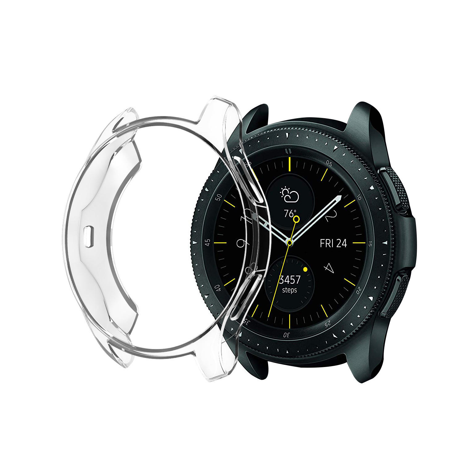 Bakeey Anti Knock TPU Watch Cover For Samsung Galaxy Watch 42mm/46mm 2018