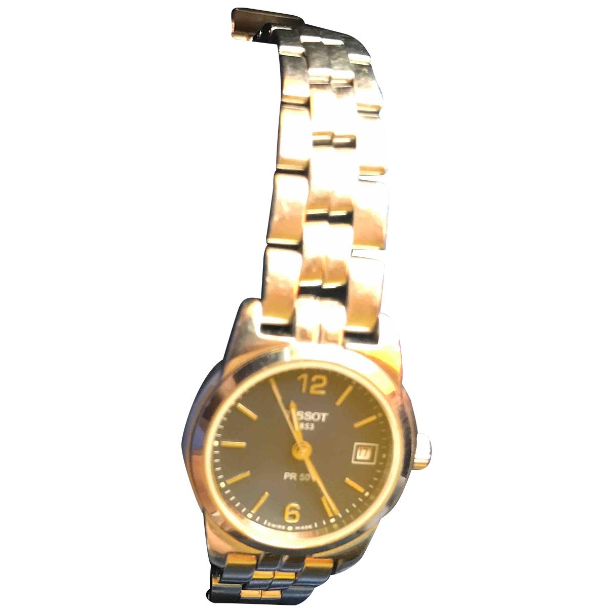 Tissot \N Grey Steel watch for Women \N