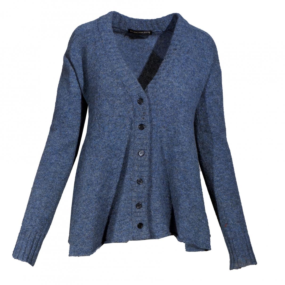 Balenciaga \N Blue Wool Knitwear for Women 38 FR