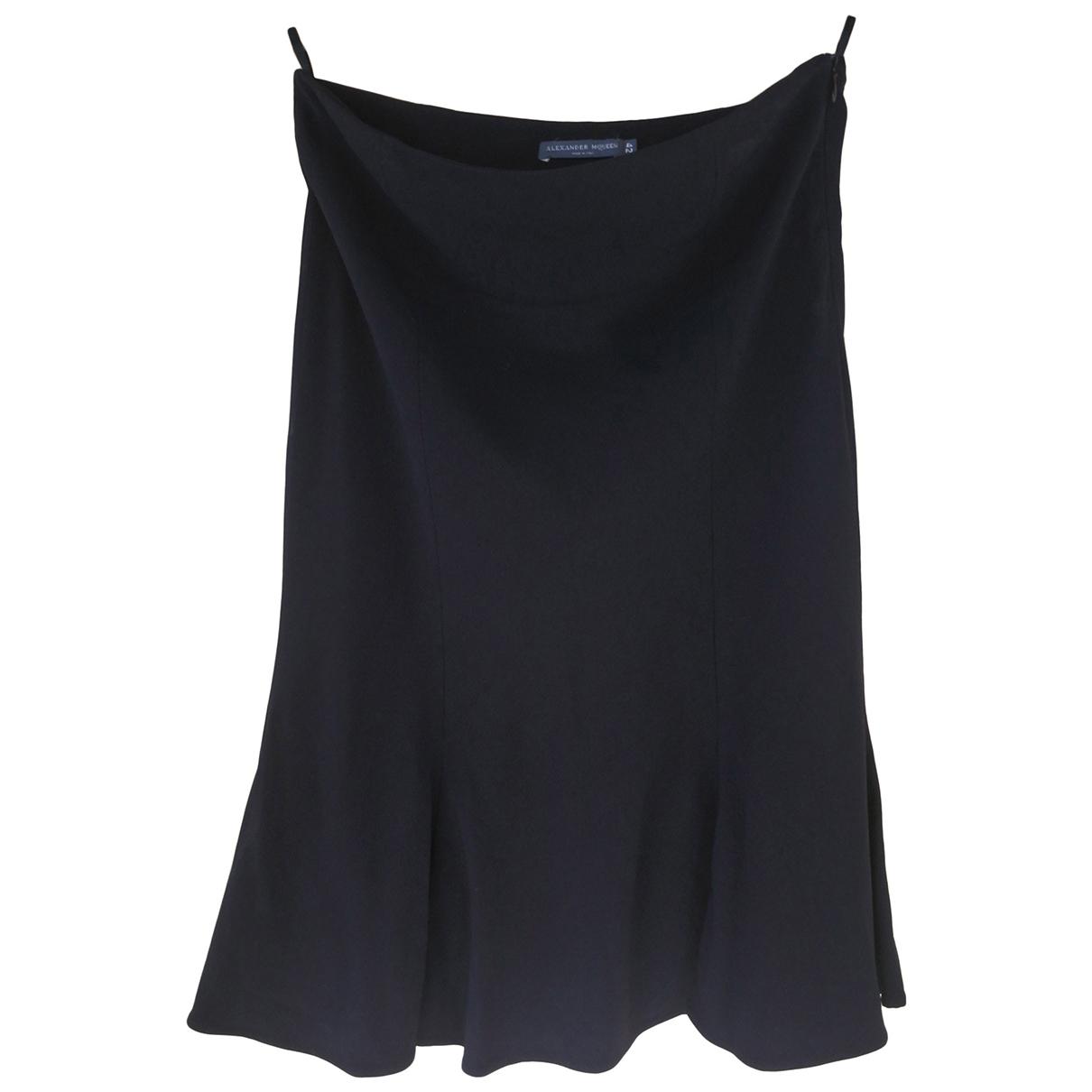 Alexander Mcqueen \N Black skirt for Women 42 FR
