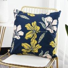 Kissenbezug mit Blumen Muster