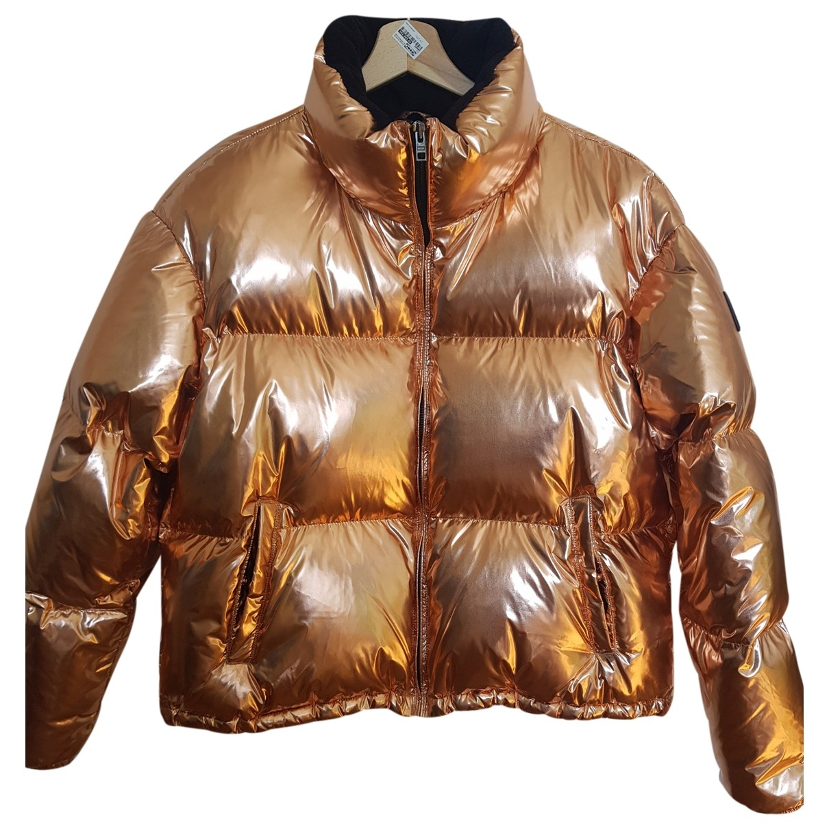 Tommy Hilfiger \N Metallic coat for Women 44 FR