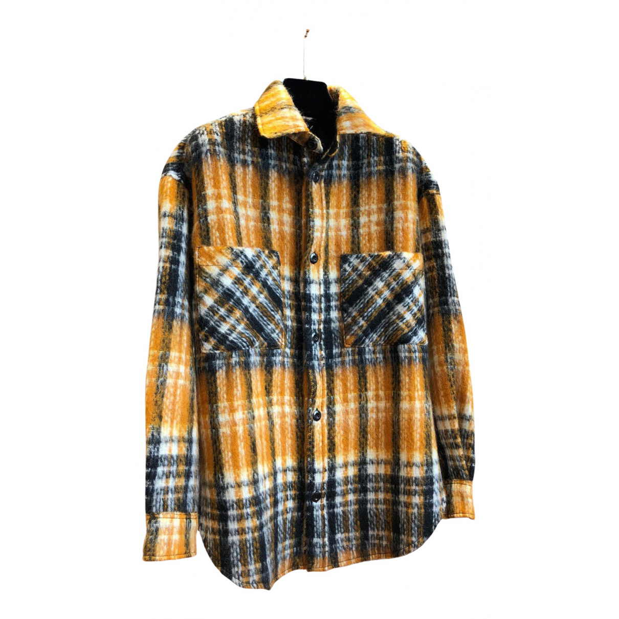 Faith Connexion \N Yellow Wool coat for Women S International