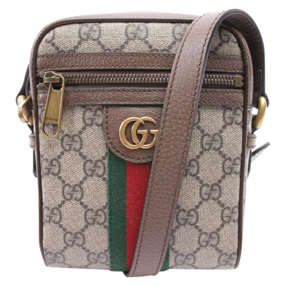 Gucci Ophidia Handtasche in  Bunt Baumwolle