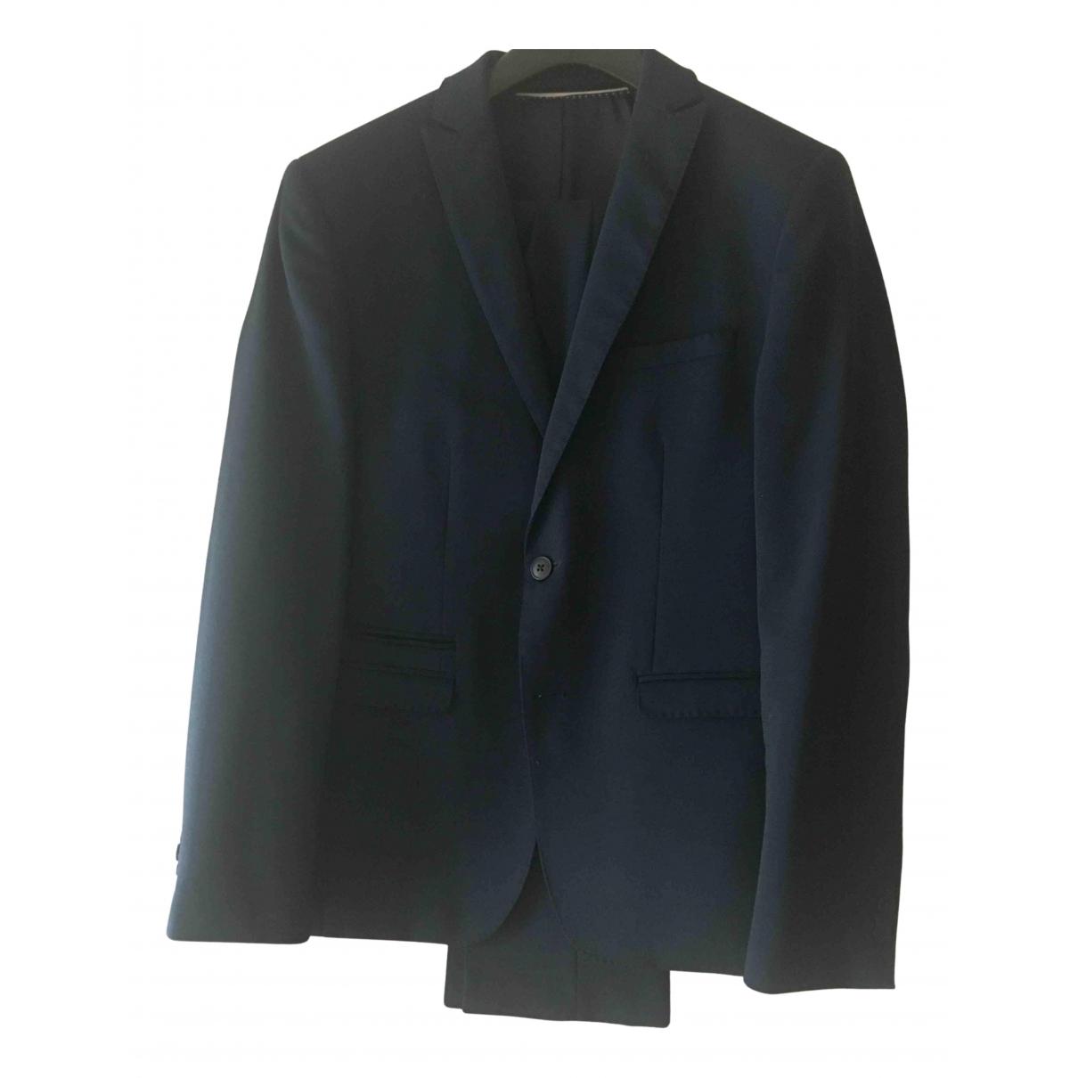 Non Signé / Unsigned N Blue Suits for Men 46 IT