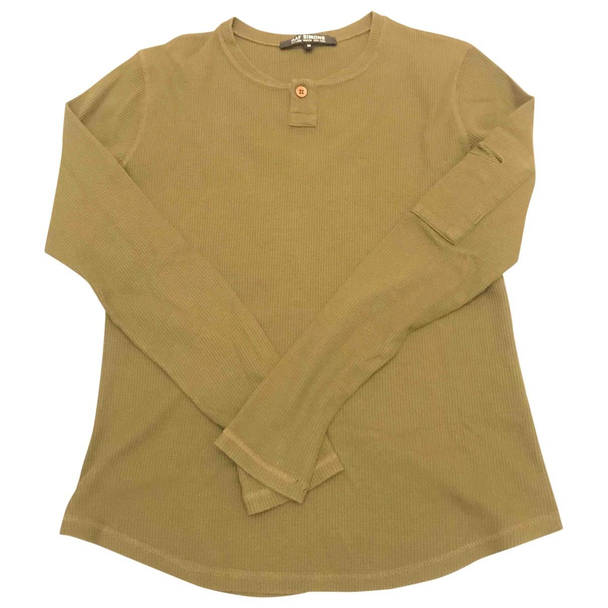 Raf Simons \N T-Shirts in  Gruen Baumwolle