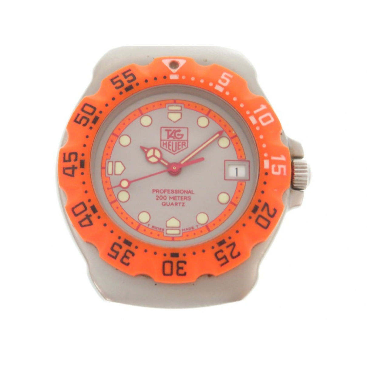 Tag Heuer \N Orange Steel watch for Men \N