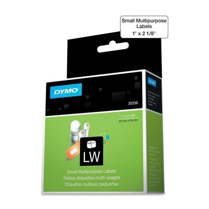 DYMO 30336 Original Multi-purpose Labels, Black on White, 1'' x 2-1/8'' (25mm x 54mm)