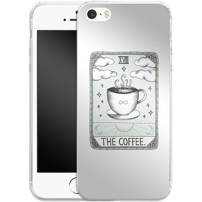 Apple iPhone 5 Silikon Handyhuelle - The Coffee von Barlena