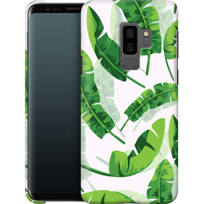 Samsung Galaxy S9 Plus Smartphone Huelle - Banana Leaf von Mukta Lata Barua