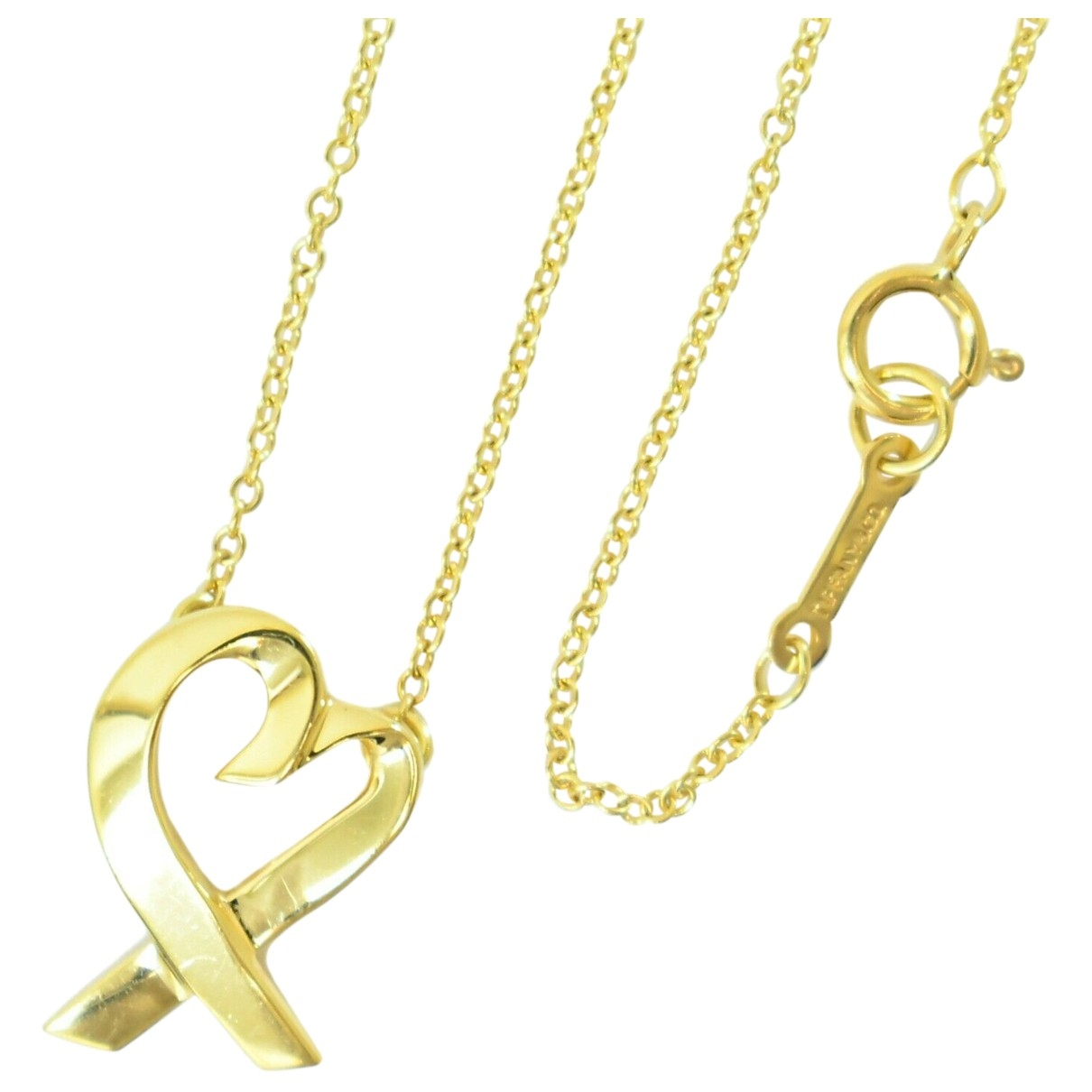 Tiffany & Co Paloma Picasso Gold Yellow gold necklace for Women \N