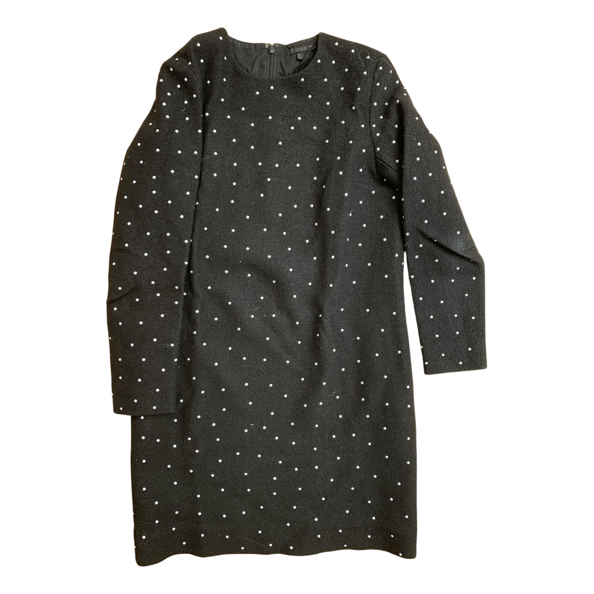 Cos N Black Wool dress for Women 36 FR