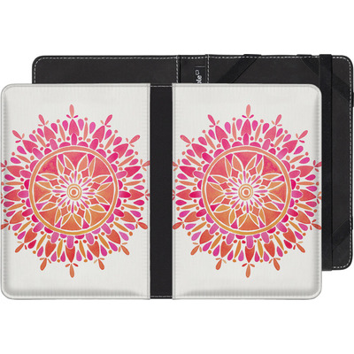 tolino shine 2 HD eBook Reader Huelle - Mandala Pink Ombre von Cat Coquillette