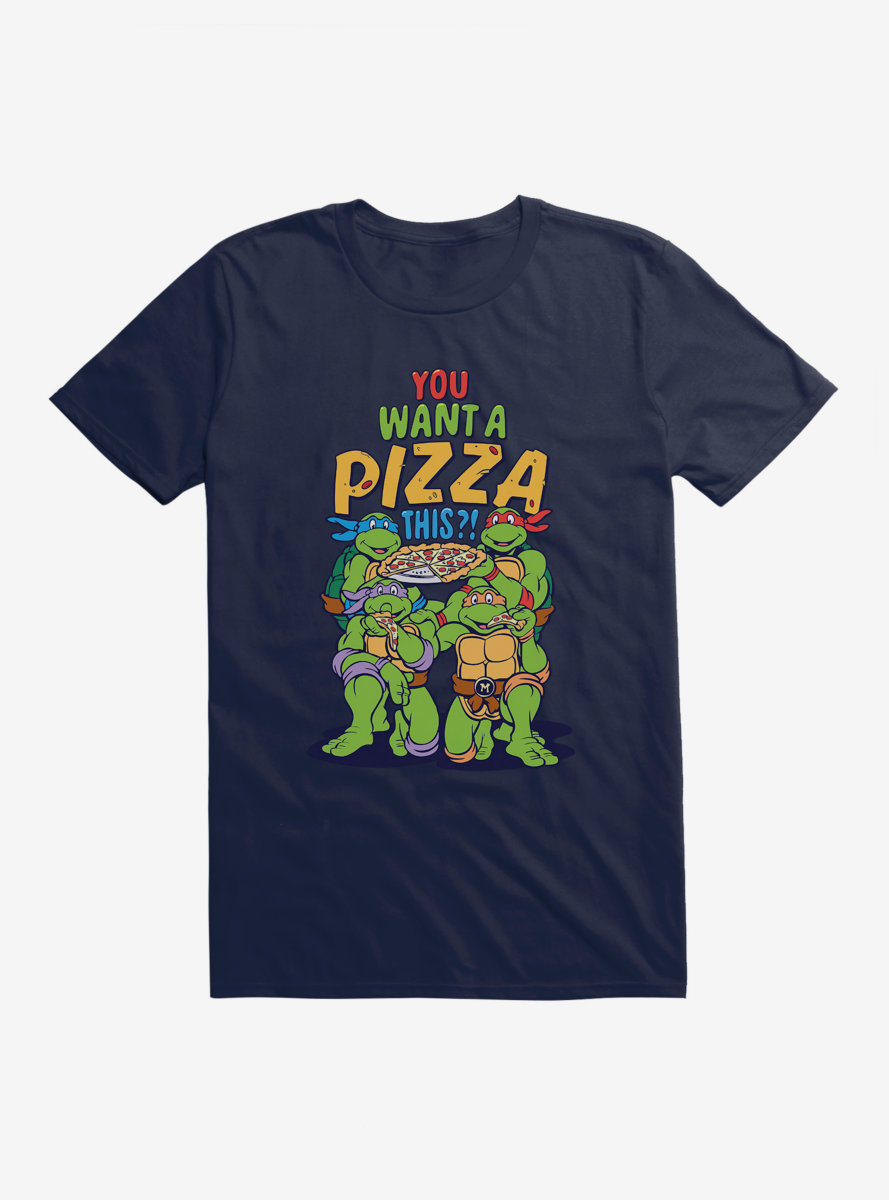 Teenage Mutant Ninja Turtles You Want A Pizza This Group T-Shirt
