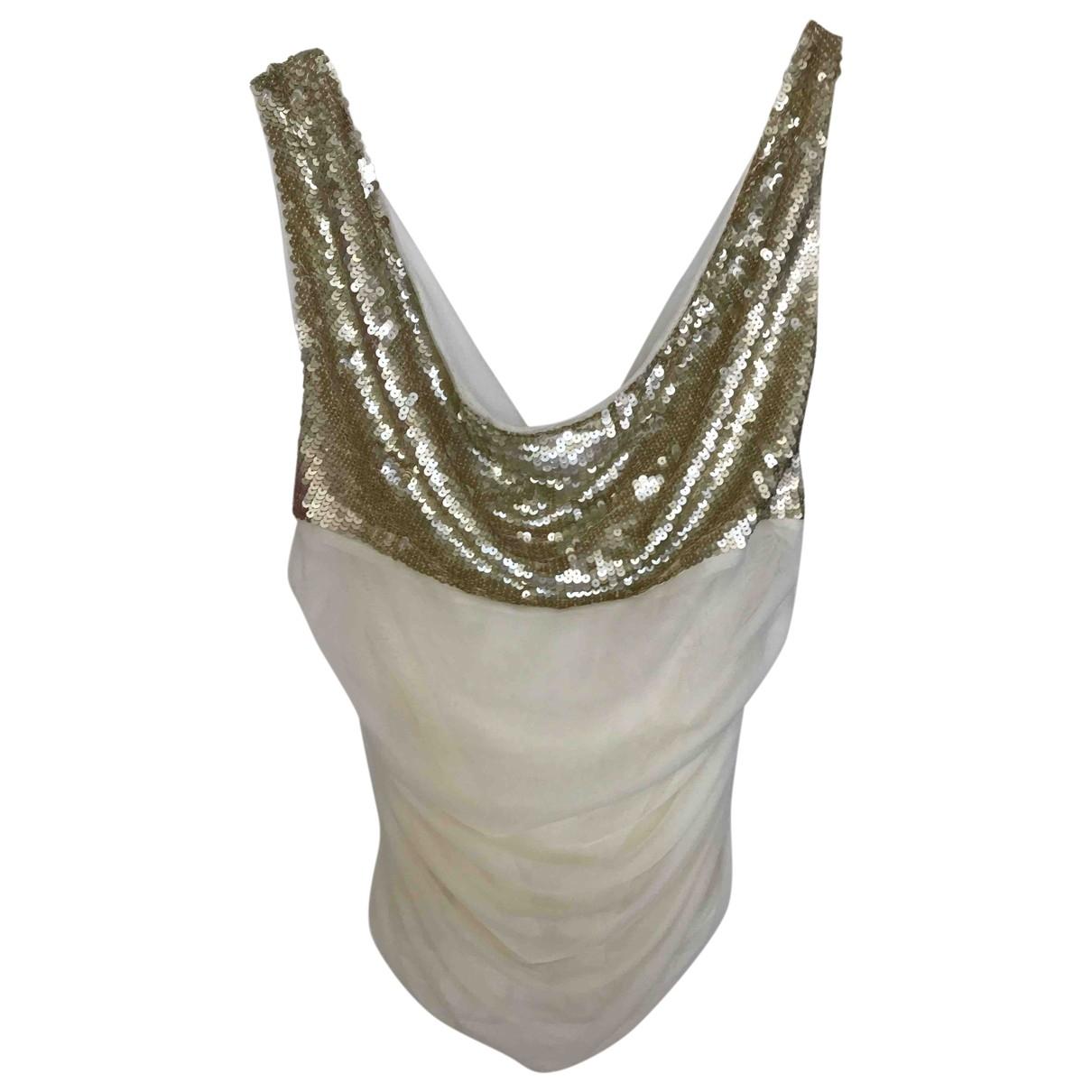 Camiseta de tirantes de Con lentejuelas Elisabetta Franchi
