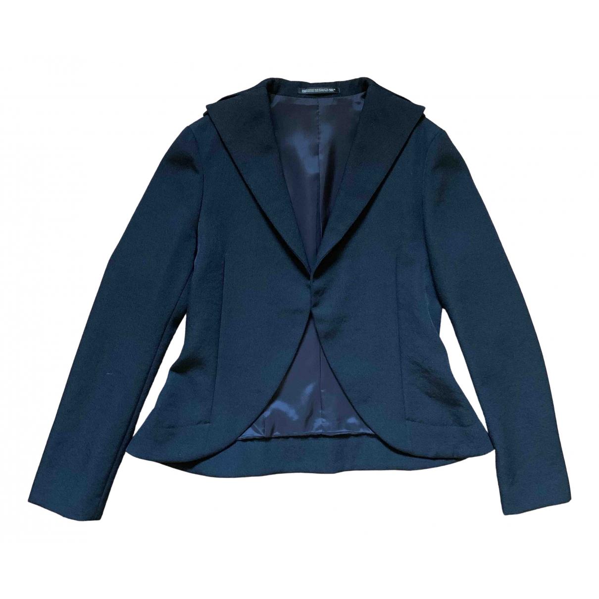 Yohji Yamamoto \N Black Wool jacket for Women S International