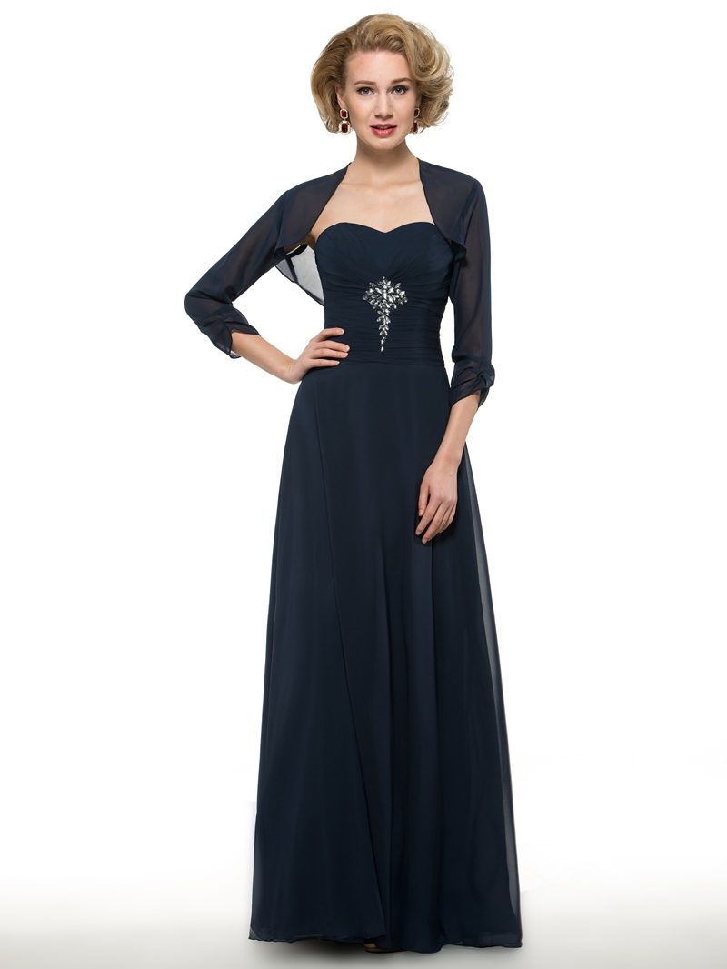 Ericdress Sweetheart Beading Mother Of The Bride Dress With Jacket