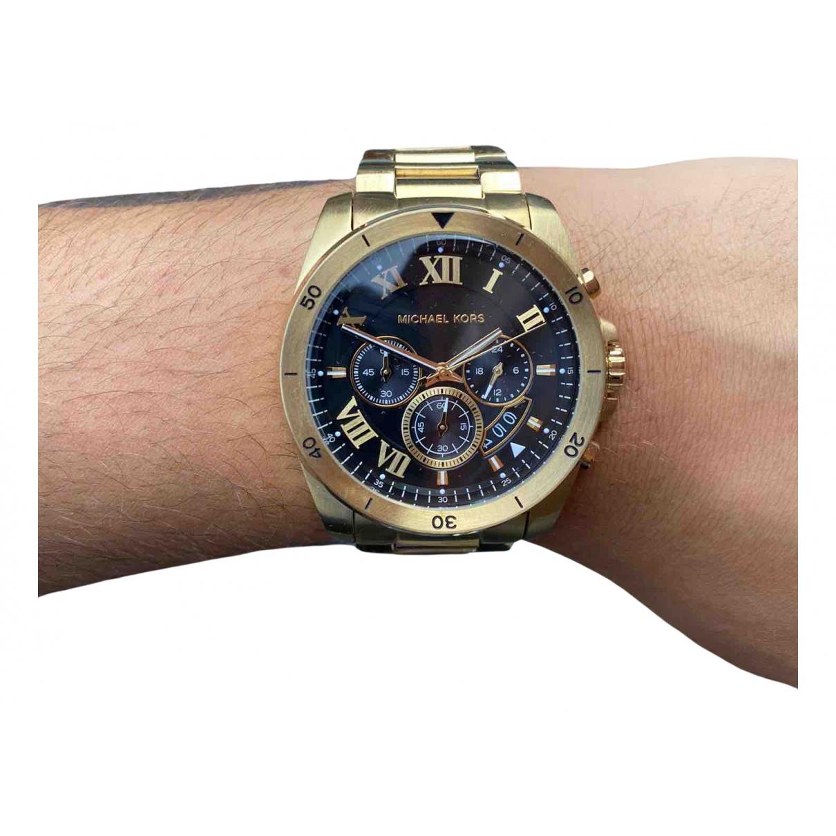 Michael Kors N Gold Steel watch for Men N