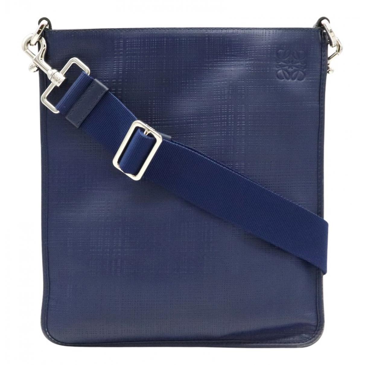 Loewe N Blue Suede handbag for Women N