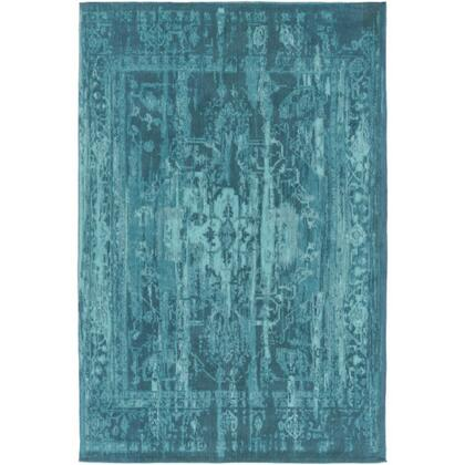 AWET3073-46 4' x 6' Rug  in Aqua and