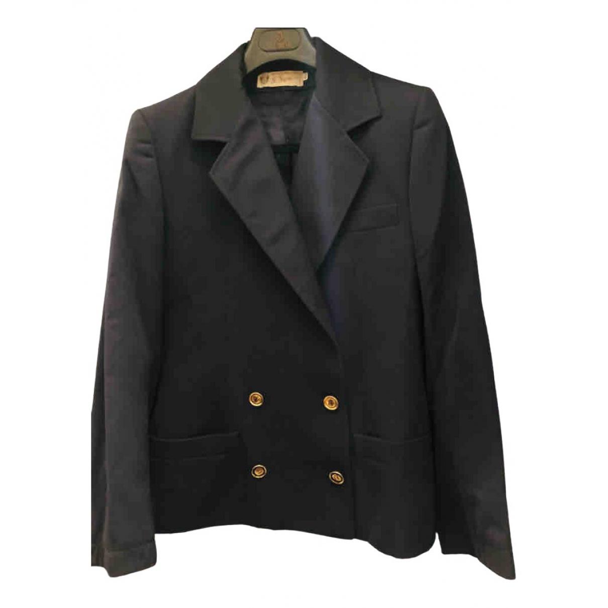 Gucci \N Blue Wool jacket for Women 44 IT