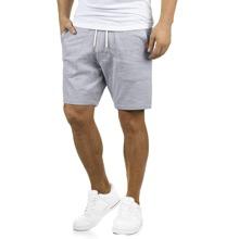 Maenner Track Shorts mit Flicken und Kordelzug um die Taille