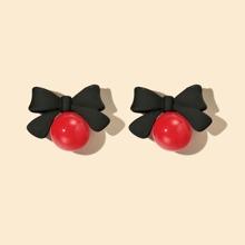 Bow Knot Drop Earrings