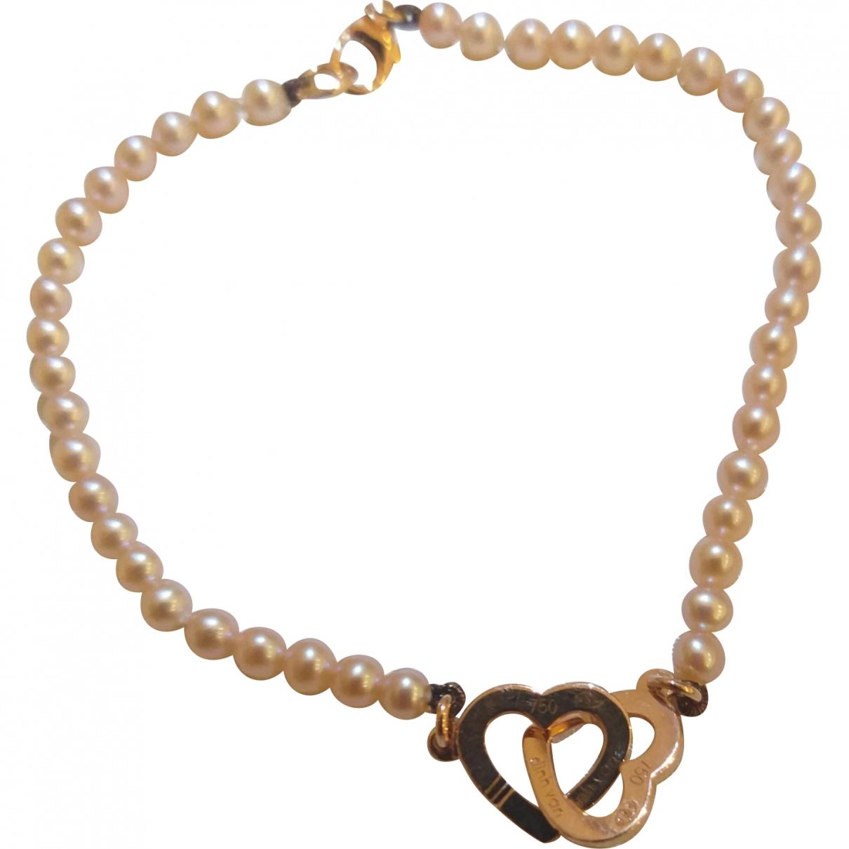 Dinh Van - Bracelet Double Coeur pour femme en or rose - rose