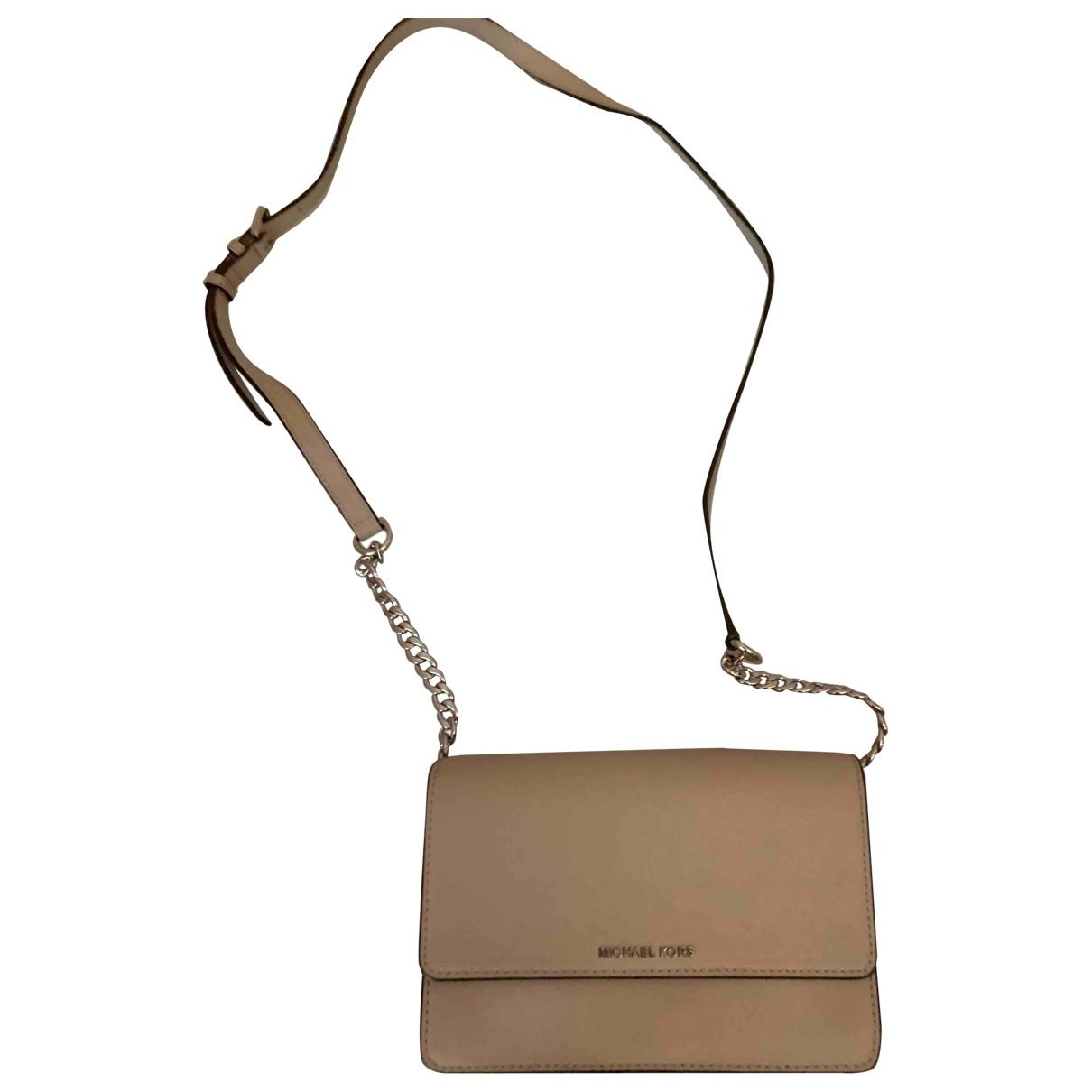 Michael Kors \N Ecru Leather Clutch bag for Women \N